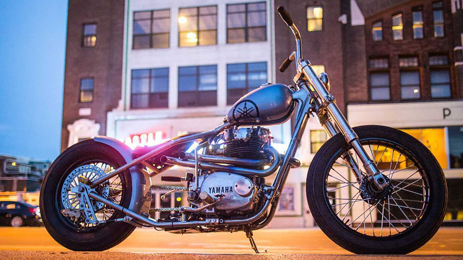 1972 Yamaha XS650 Custom Bobber | RideApart com Photos