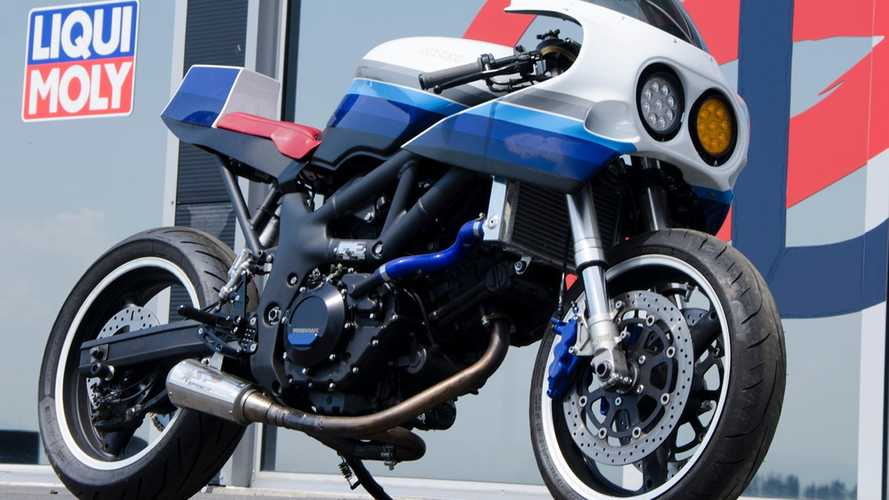 Caballo De Hierro: 2001 Suzuki SV650 Custom Build