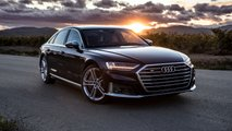 2020 Audi S8 shot by Auditography