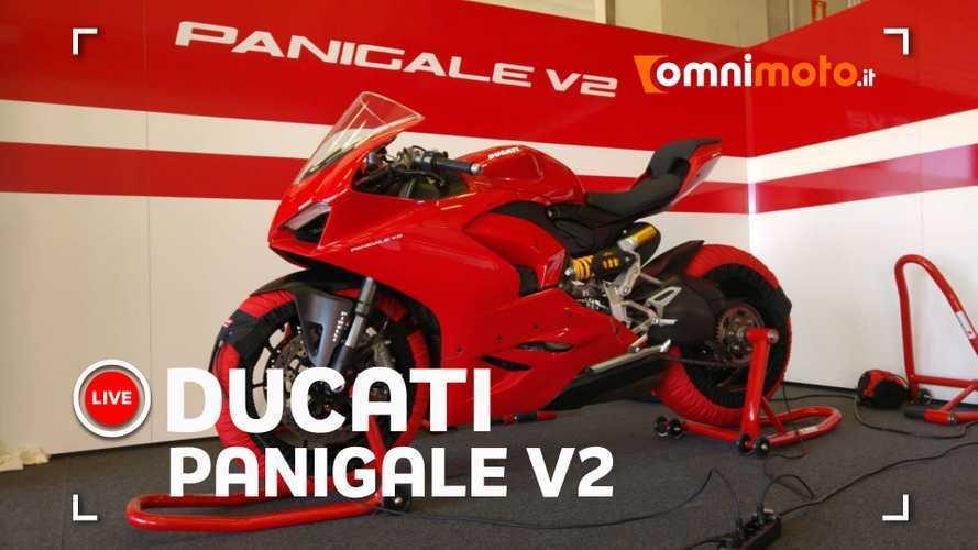 Ducati Panigale V2, le impressioni a caldo - ANTEPRIMA TEST