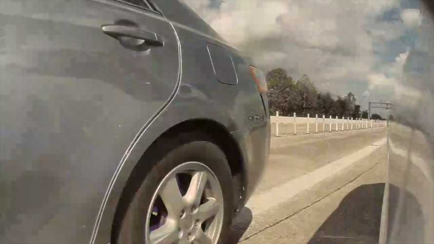 Watch Tesla Autopilot Save Model 3 From Lane-Crossing Toyota Camry