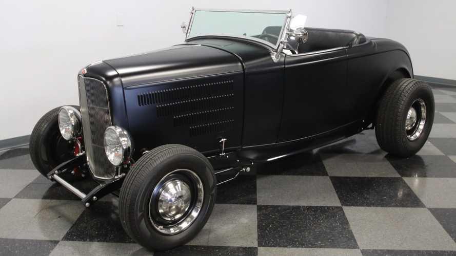 1932 Ford Highboy Roadster Provides Turn-Key Performance