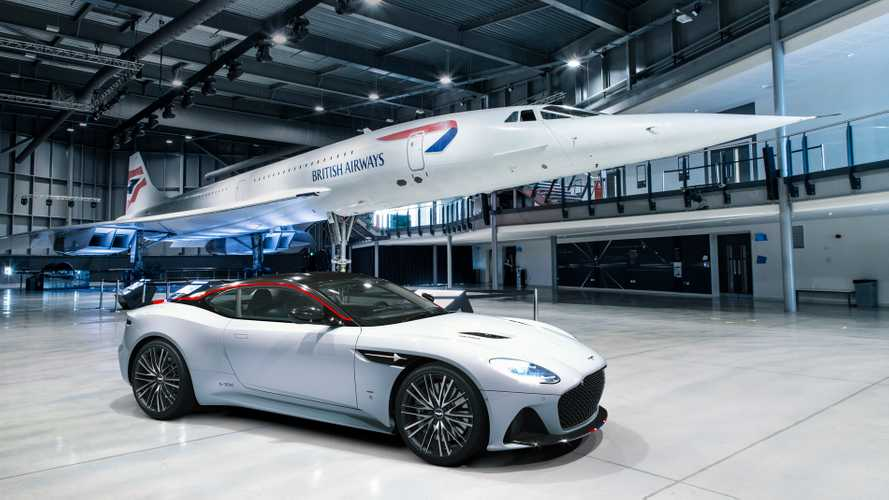 Aston Martin celebrates speed with DBS Superleggera Concorde Edition
