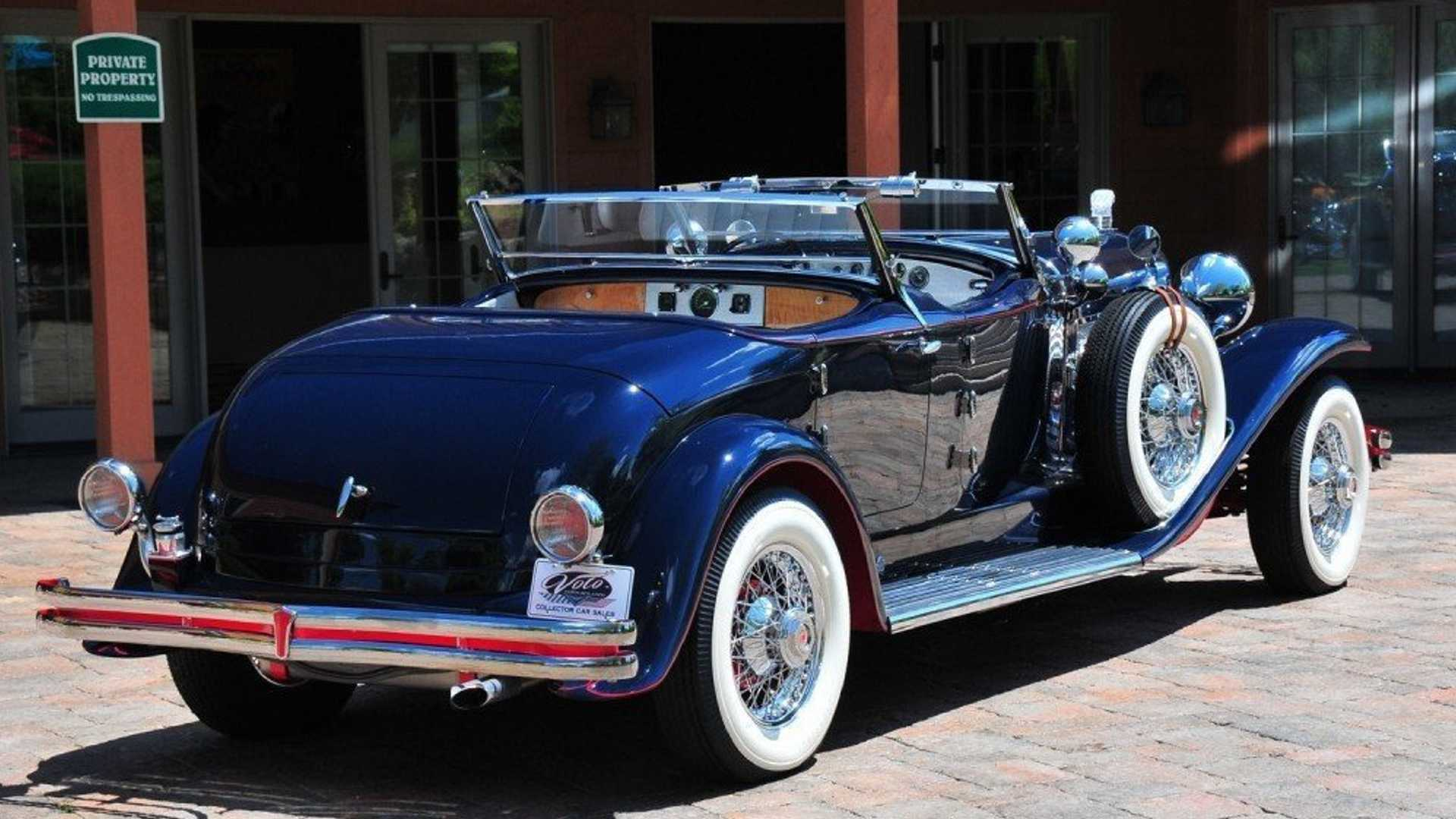 "[""Shine On With A 1999 Duesenberg II Torpedo Phaeton""]"