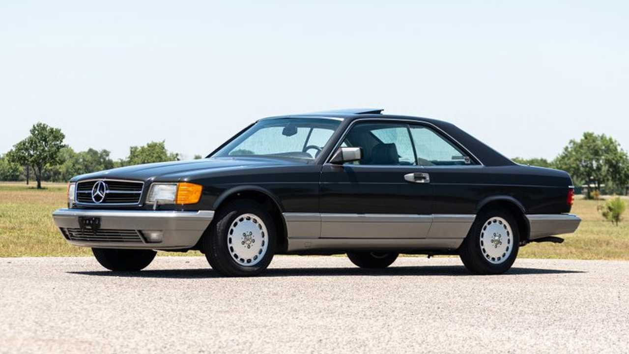 One-Owner 1987 Mercedes-Benz 560 SEC Is \'80s Royalty