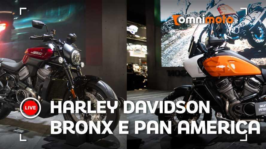 Harley-Davidson Pan America e Bronx, il futuro è ad EICMA 2019