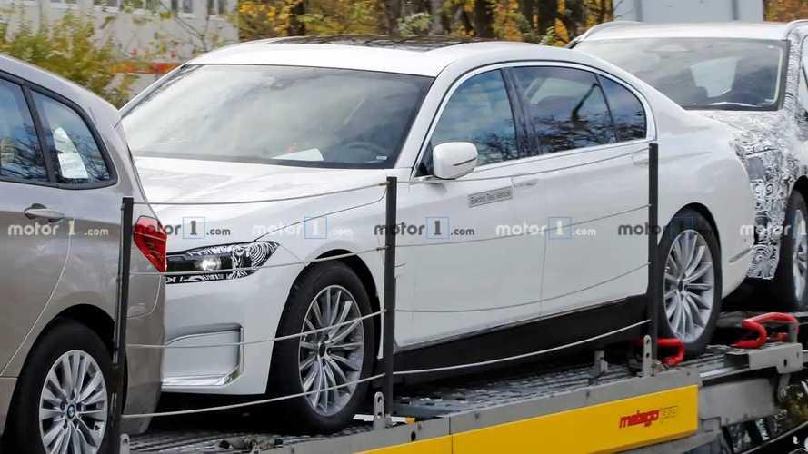 Photos espion BMW Série 7 électrique