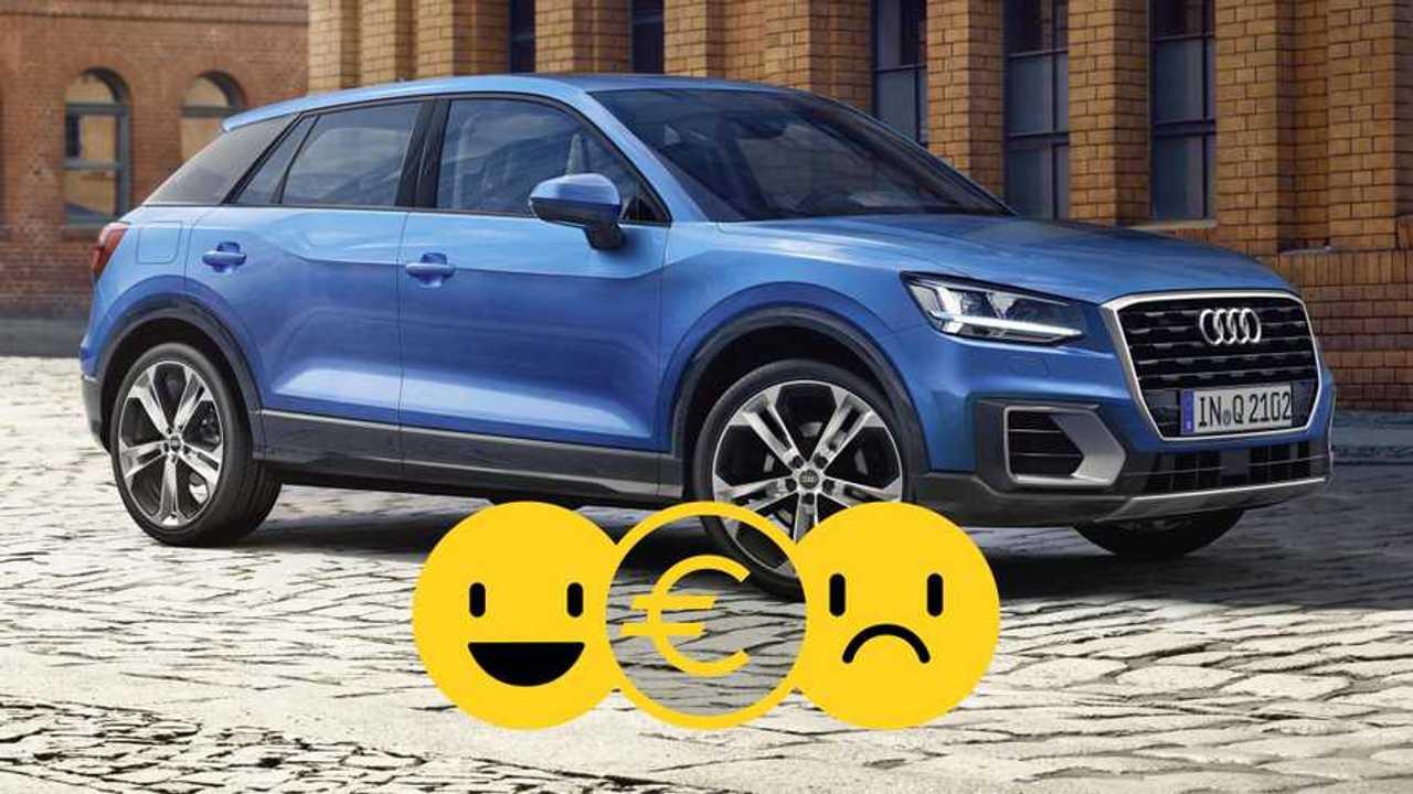 Audi Q2 Sport Limited à 290 €/mois