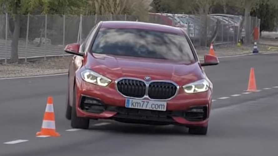 BMW 1 Series moose test