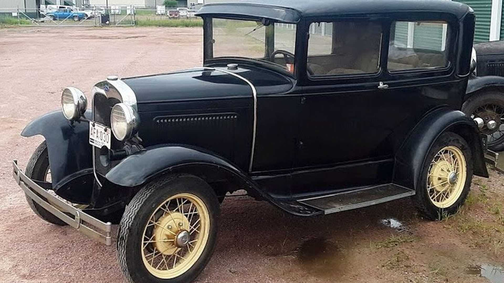 "[""Massive Vintage Project Car Collection Up For Auction In South Dakota""]"