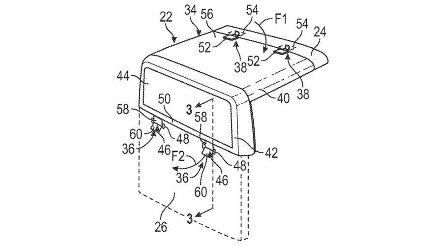 Ford Patents Convertible Pickup Truck Roof Similar To Jeep Gladiator's