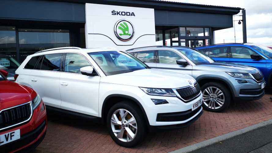 Skoda dealership in Cardiff UK