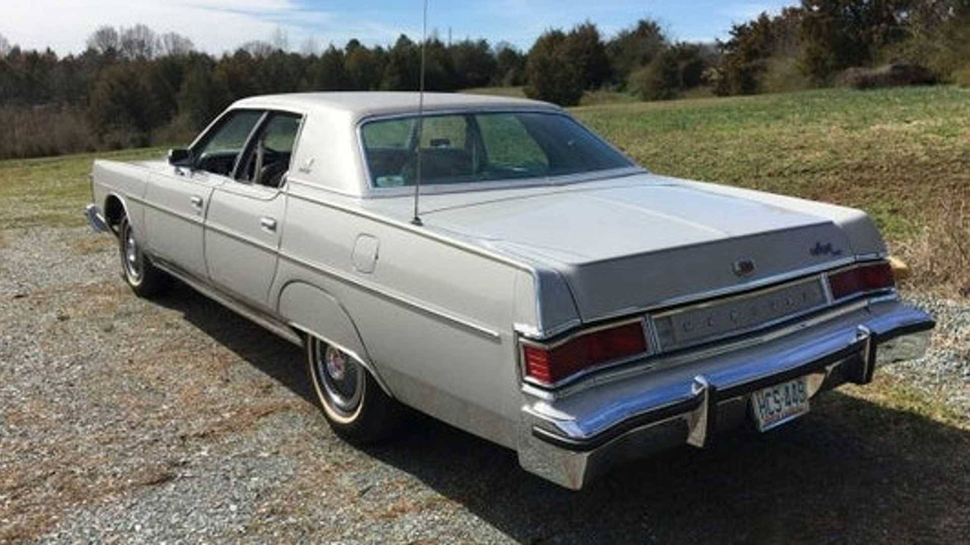 """[""""Live Large In This Super-Clean 1977 Mercury Marquis""""]"""