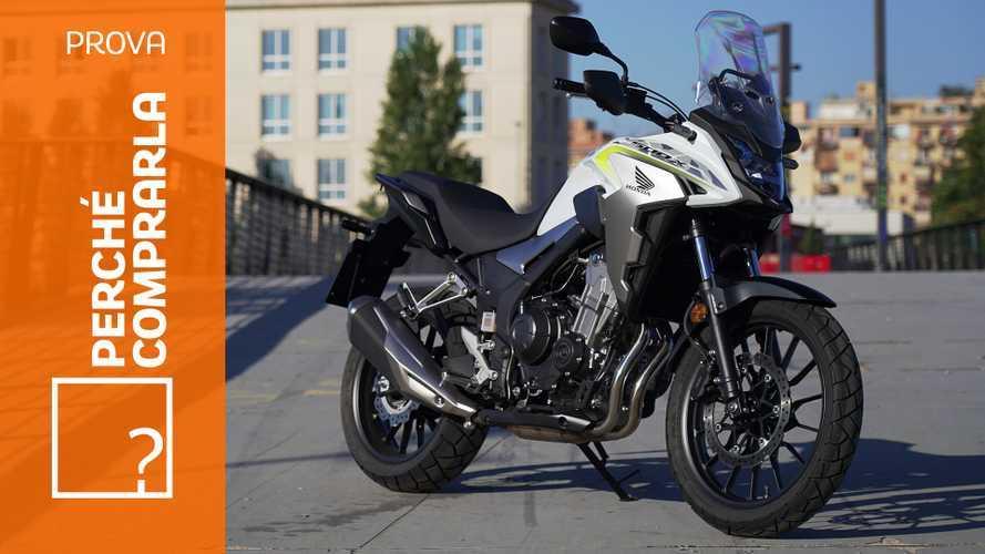 Honda CB500X, perché comprarla e perché no
