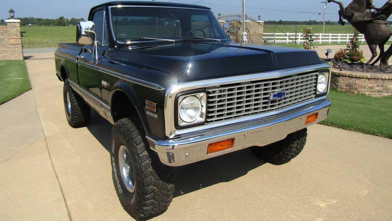 Restored 1972 Chevrolet K10 Up For Grabs