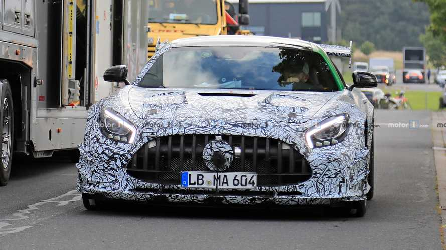 Mercedes-AMG GT R Black Series, fotos espía