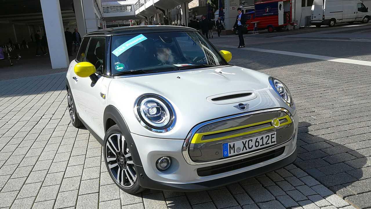IAA 2019 - Elektroautos: Mini Cooper SE
