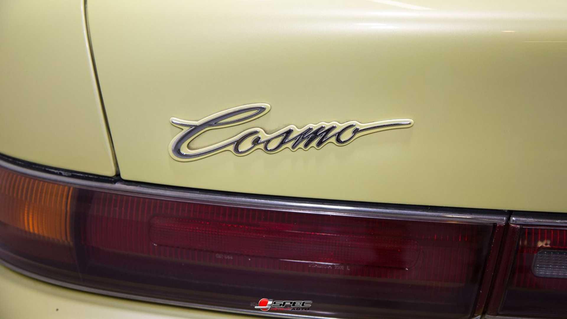 "[""Rare 1990 Mazda Eunos Cosmo Features Twin-Turbo Rotary Engine""]"