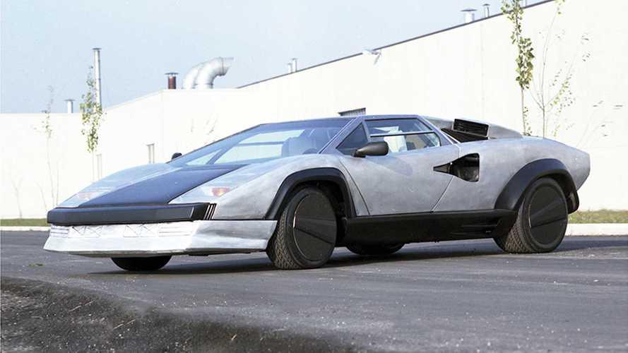 Lamborghini Countach Evoluzione, la prima in carbonio