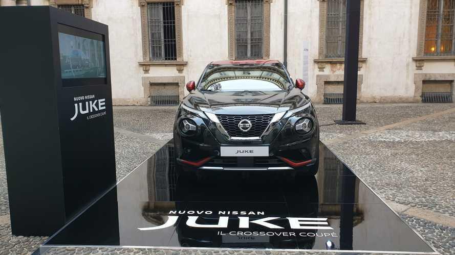 Nuova Nissan Juke alla Milano Fashion Week 2019