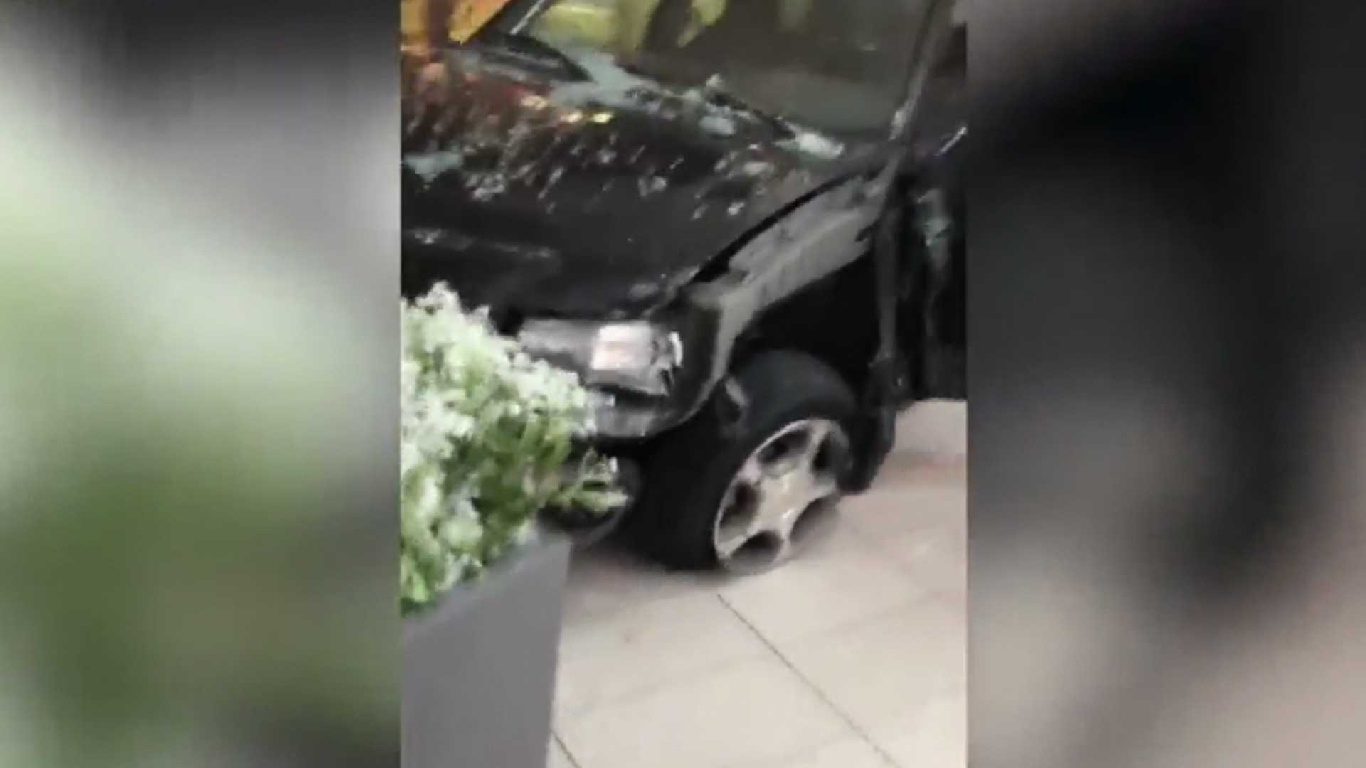 Watch As Man Drives SUV Through Chicago-Area Mall