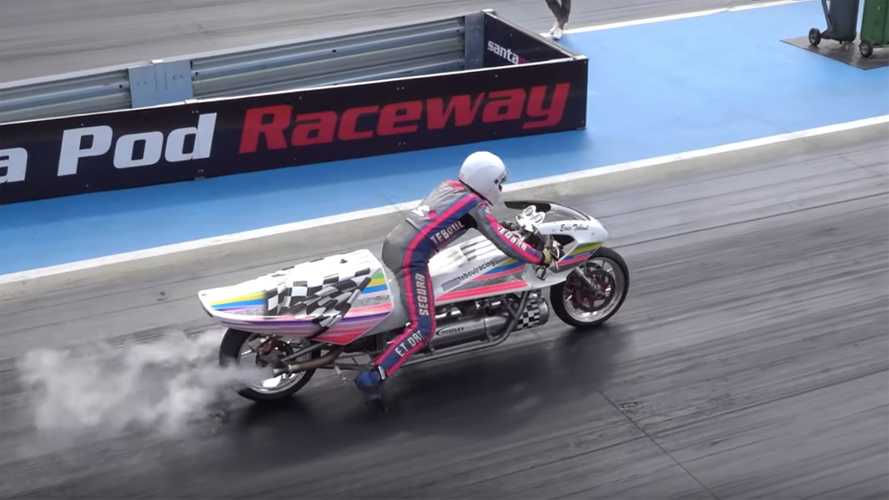 Bonkers Rocket Bike Does The Quarter Mile In Under 6 Seconds