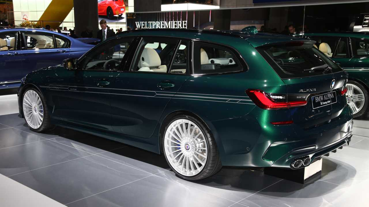 Alpina B3 Touring al Salone di Francoforte 2019