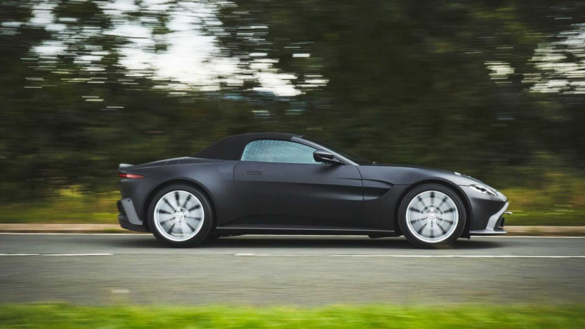 Aston Martin Vantage Roadster Previewed In Official Images