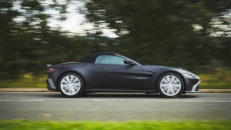 2021 Aston Martin Vantage Roadster prototype | Motor1.com Photos