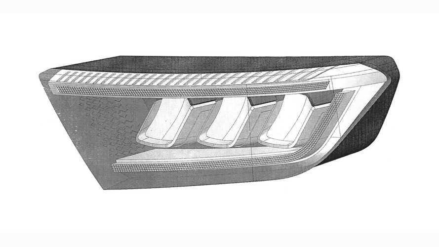 УАЗ запатентовал полностью светодиодные фары