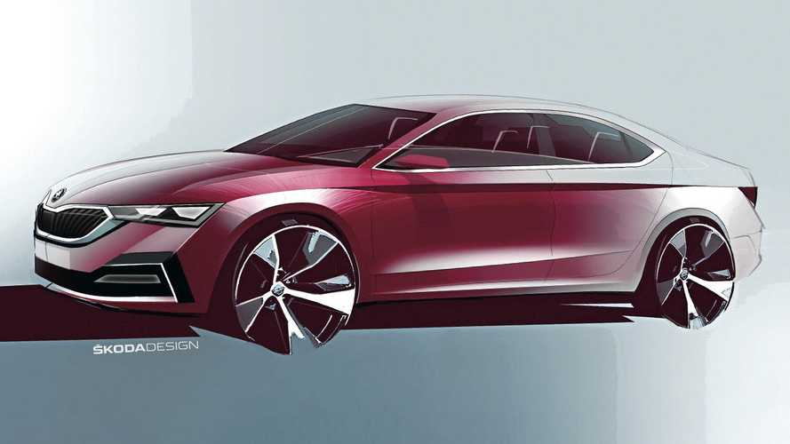 2020 Skoda Octavia officially teased with attractive sketches