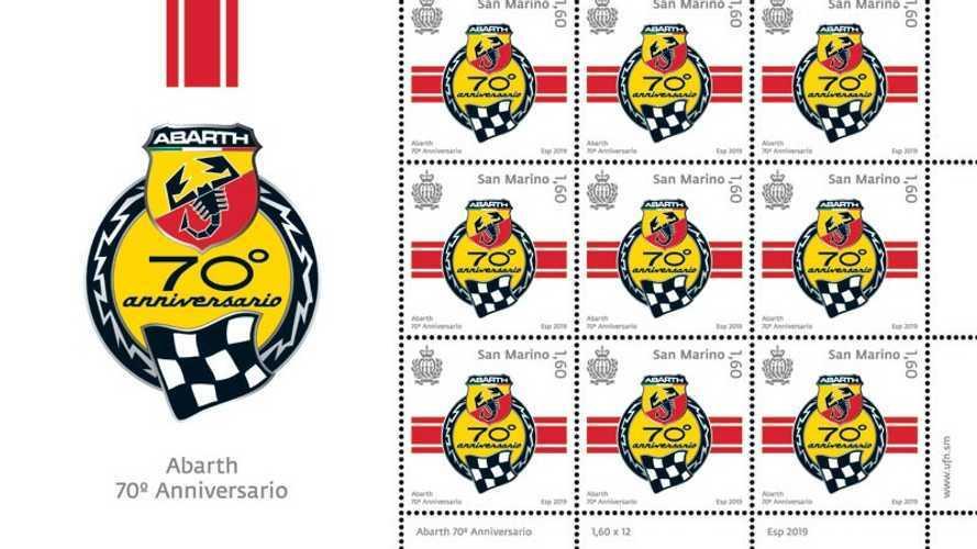70 Jahre Abarth: Briefmarke zum Jubiläum
