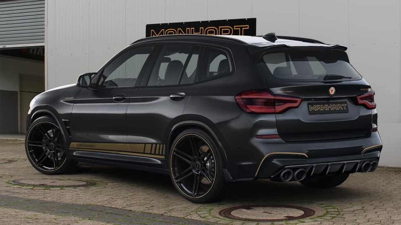 Bmw X3 M Competition Tuned By Manhart To 630 Hp Is One Mean Suv
