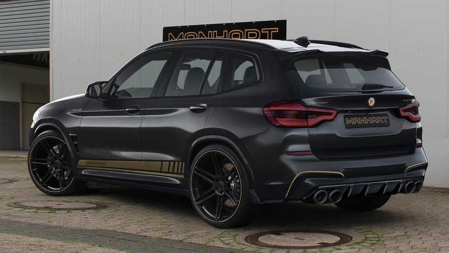 BMW X3 M Competition 2020 by Manhart