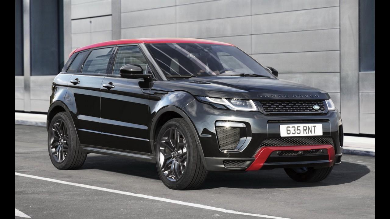 Evoque comemora cinco anos de mercado como o Land Rover de maior sucesso