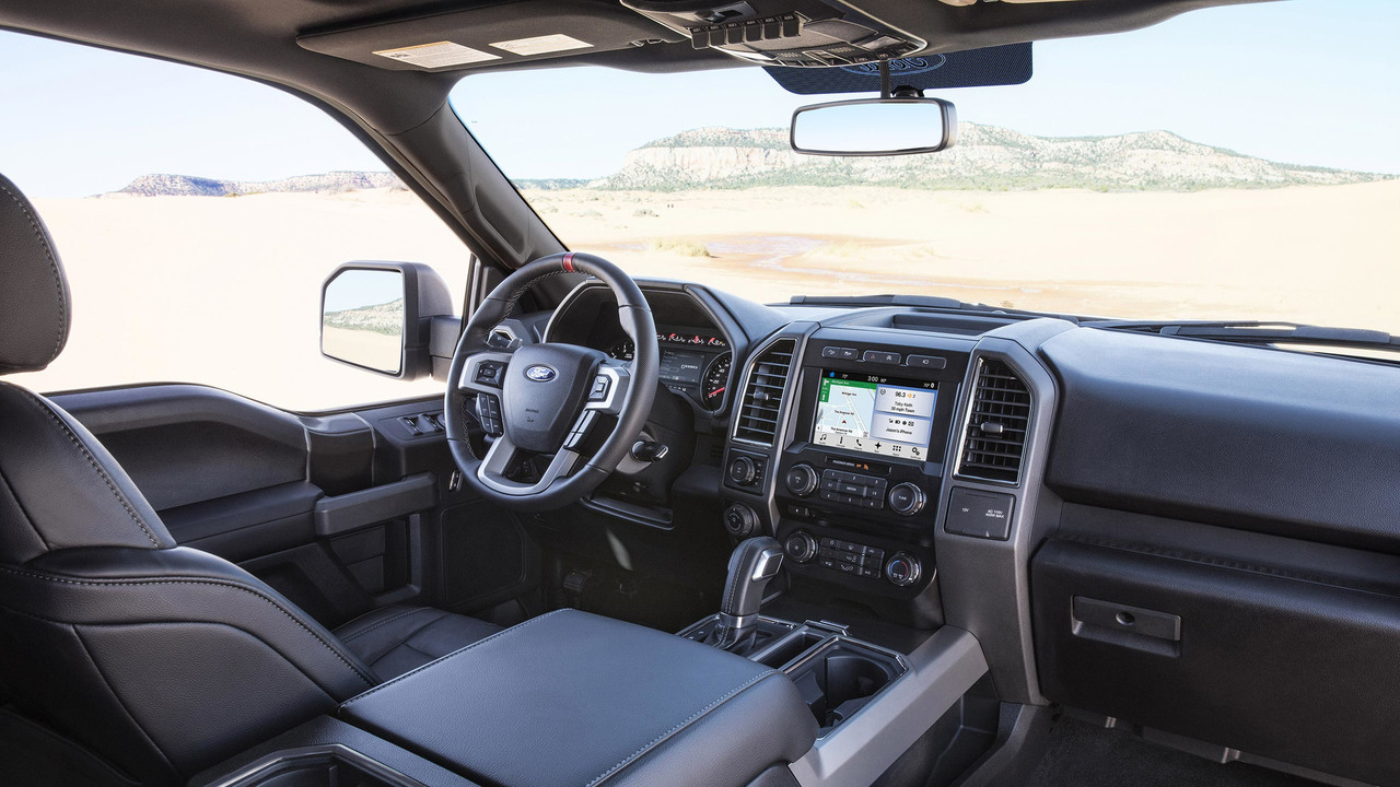 2017 Ford F 150 Interior >> 2017 Ford F 150 Raptor Motor1 Com Photos