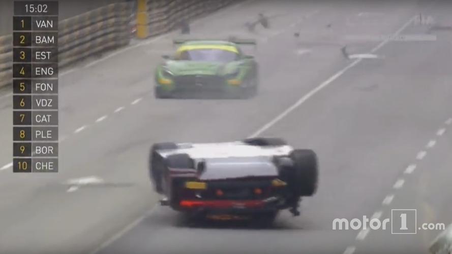 VIDÉO – Il termine sur le toit à Macao sur son Audi R8 LMS et est déclaré vainqueur