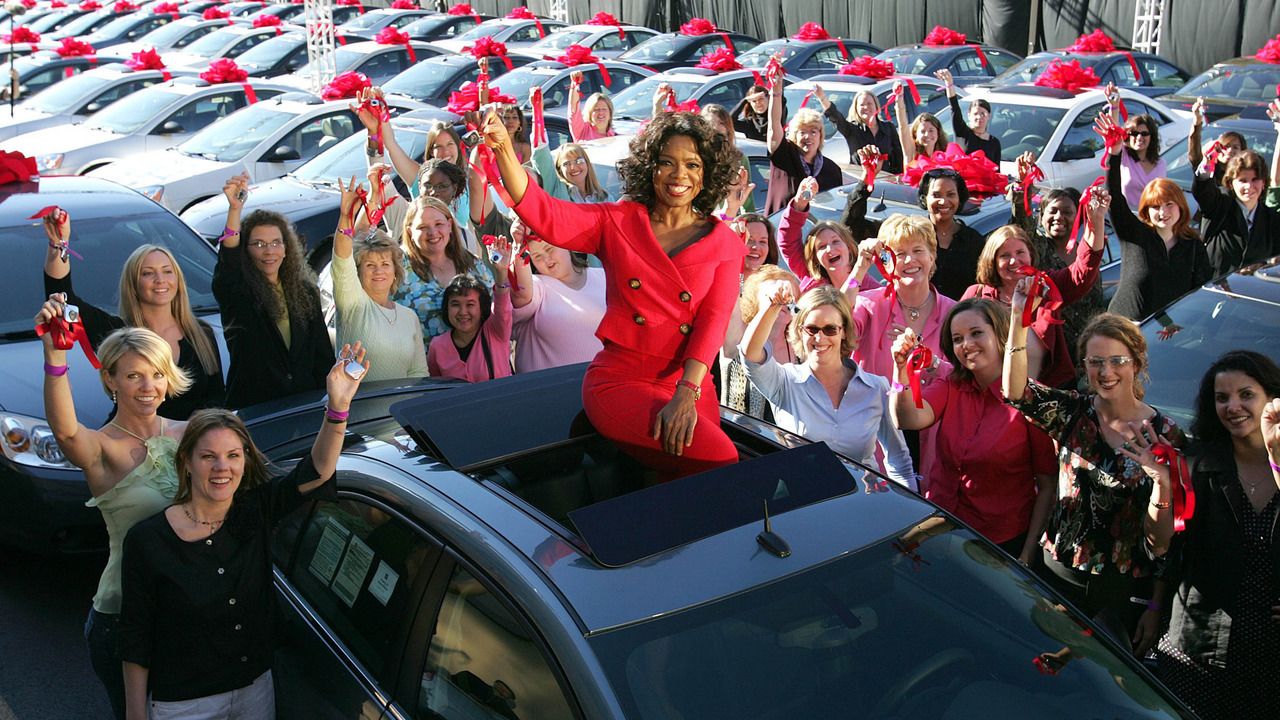 Oprah S Famous Car Giveaway 6 Things You Probably Didn T Know