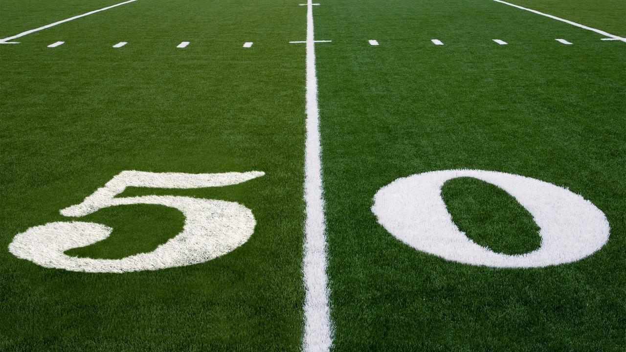 Super Bowl 50 yard line