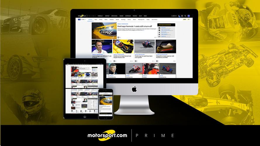 Especial: 5 razões para fazer um teste gratuito do Motorsport.com PRIME