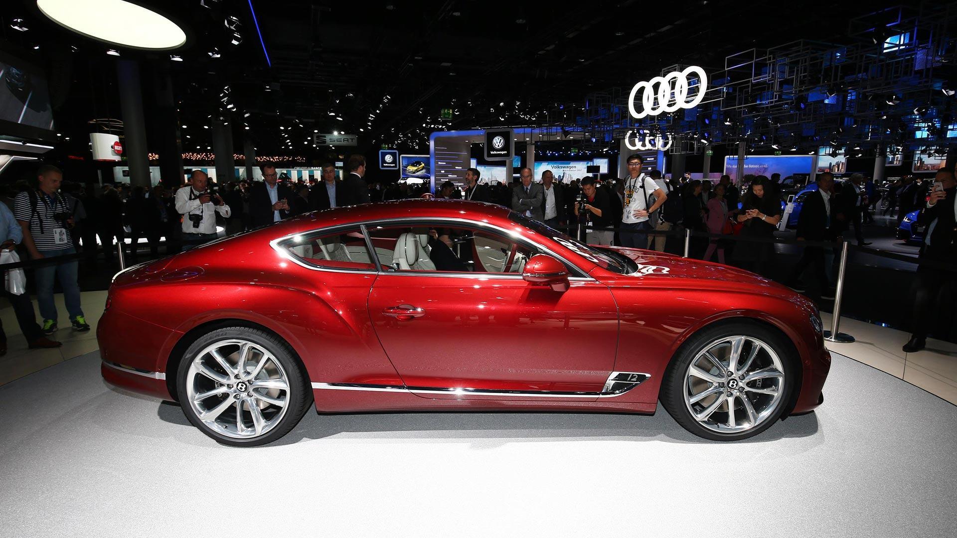 2018 Bentley Continental Gt Dazzles Crowd With New Design At Frankfurt