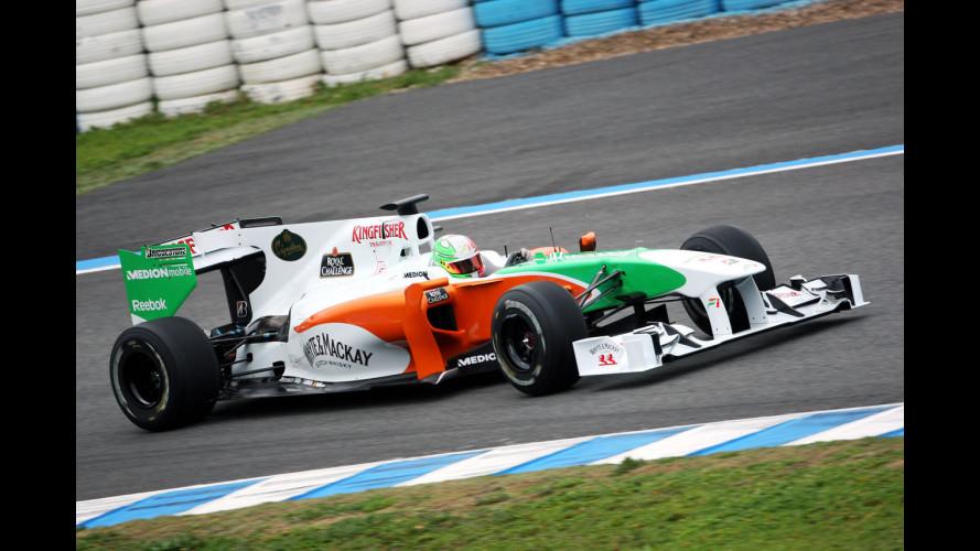 F1: acuto di Kobayashi a Jerez