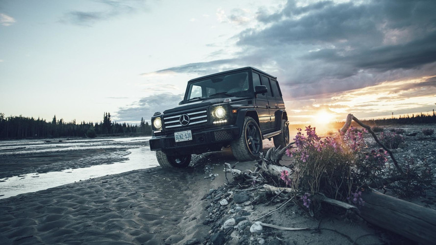 Mercedes G-Class Goes On Tour, Eye Candy Photo Gallery Ensues