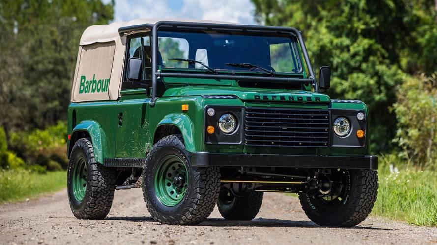 Land Rover Defender proyecto Barbour