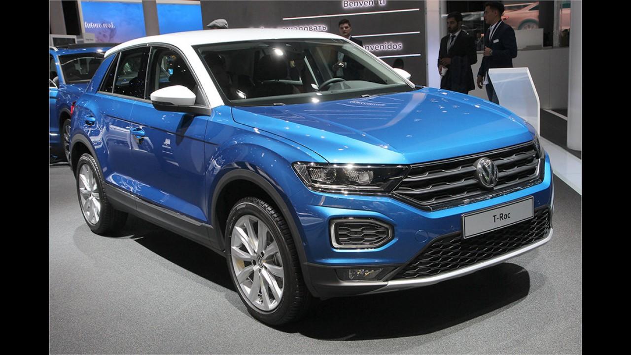IAA 2017: Sitzprobe im VW T-Roc