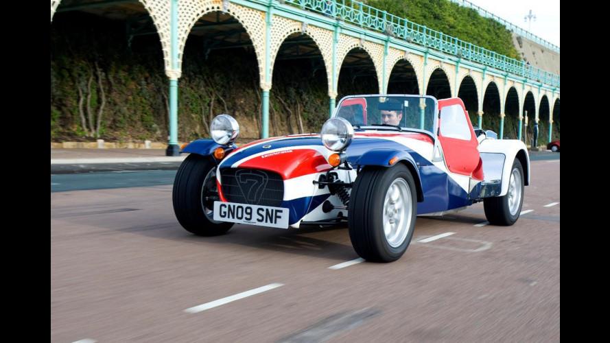 La nuova Caterham ad Autosport International