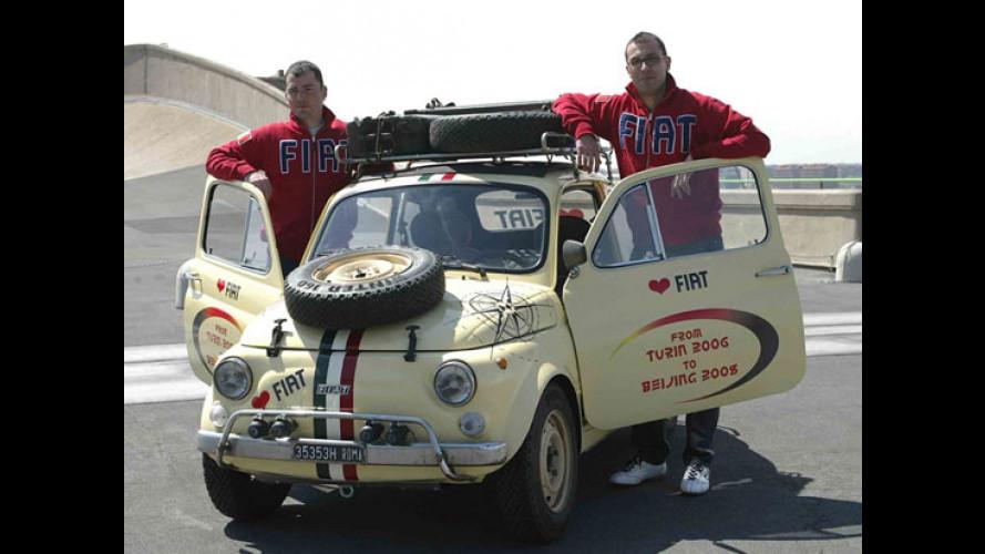 Torino-Pechino in Fiat 500