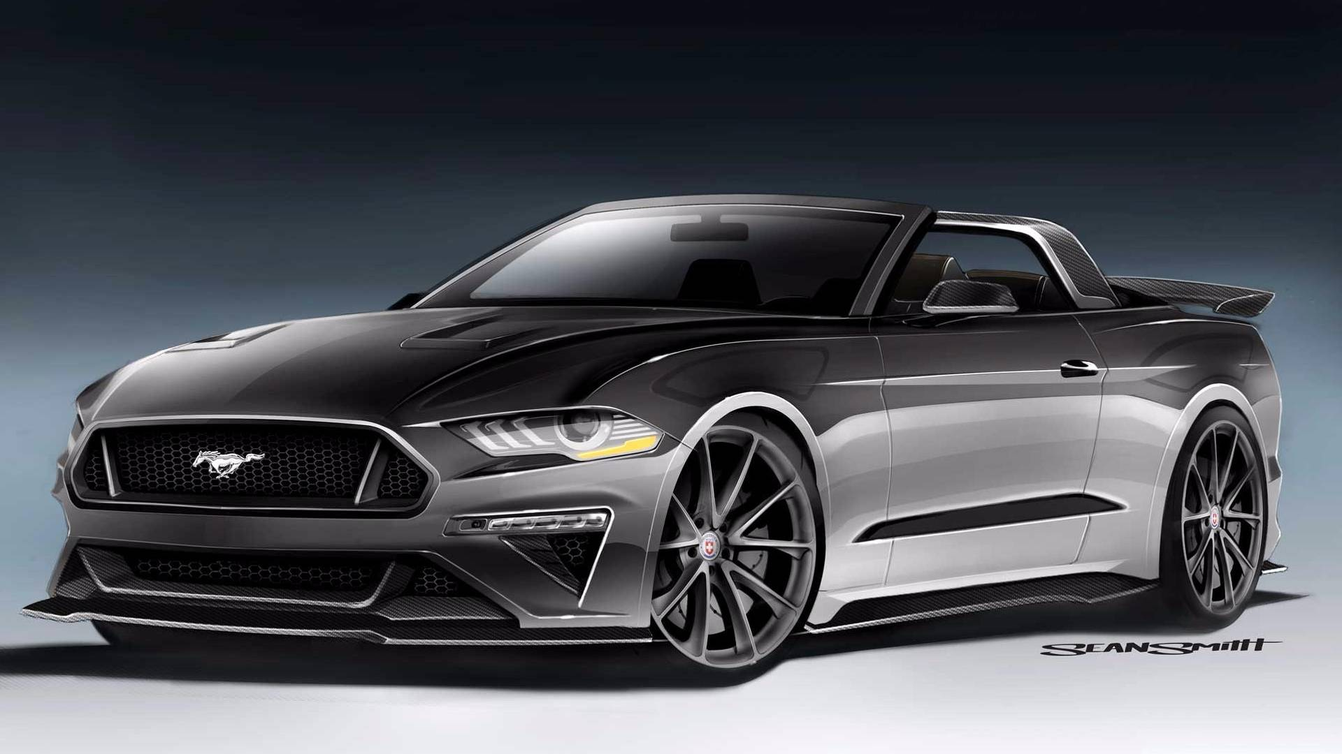 Ford unveils magnificent seven mustang lineup for sema