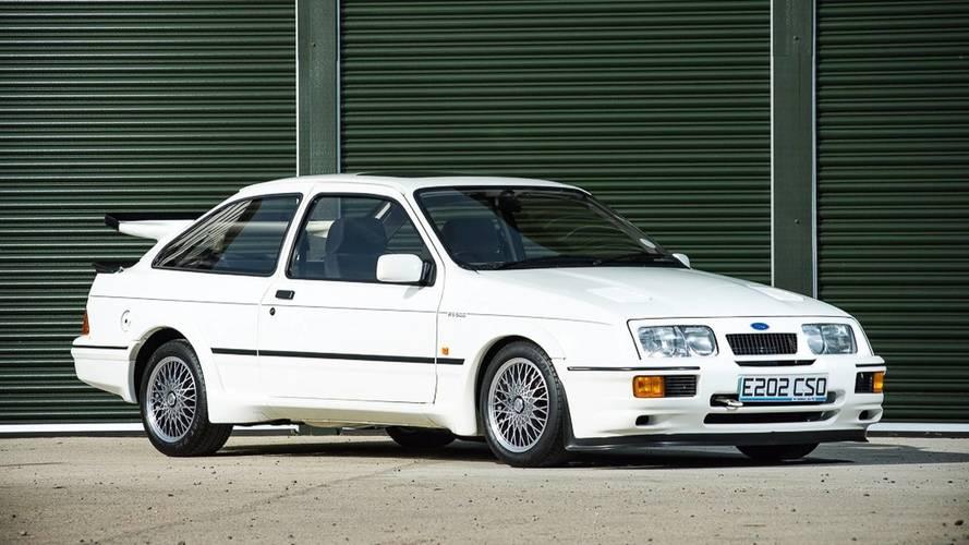 Enchères - Une Ford Sierra Cosworth RS500 pourrait battre un record