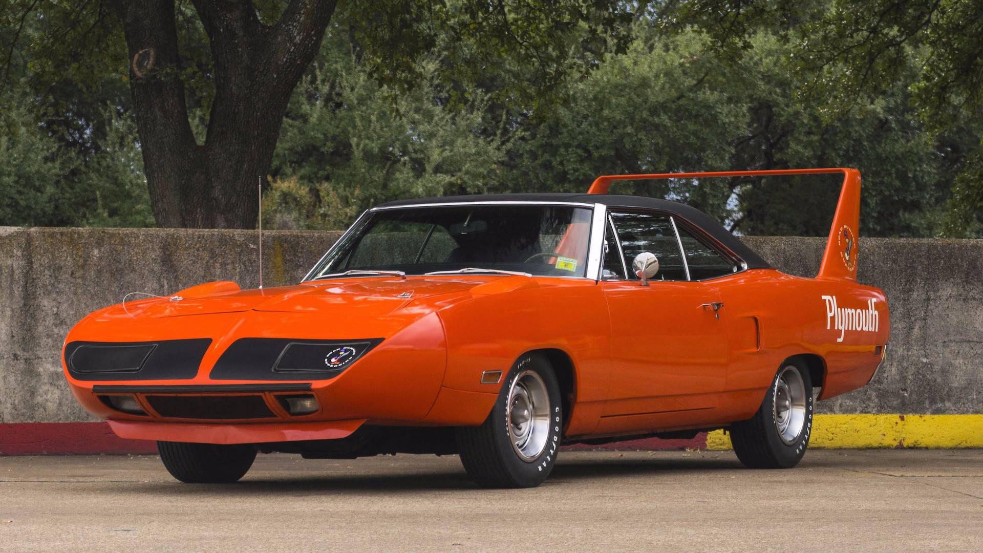 Unrestored Plymouth Superbird ...